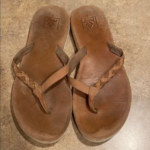 Womens Reef sandals size 8